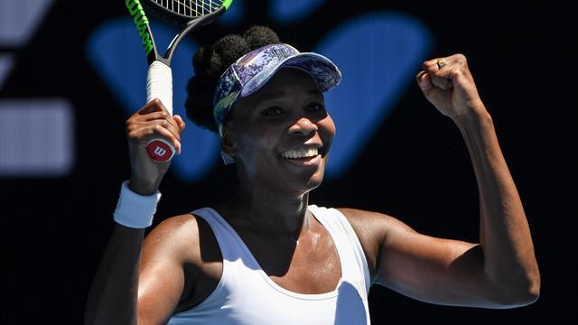 Quatorze ans après, Venus Williams verra de nouveau le dernier carré : son succès en vidéo