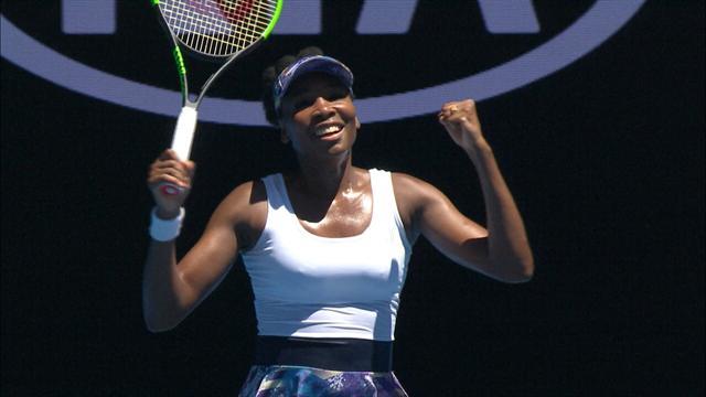 Venus Williams défie toujours le temps : la voilà en quart