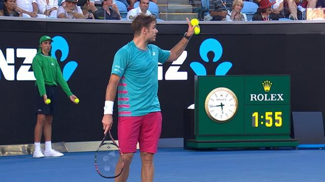 Tennis : La réponse géniale de Wawrinka à un spectateur qui lui lance