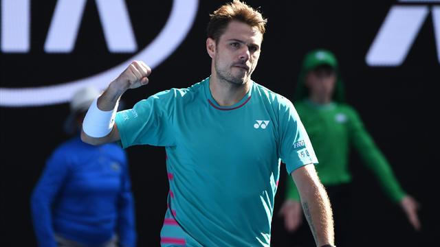 Tennis : Wawrinka, lui, passe entre les gouttes