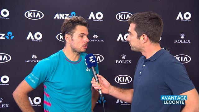 Quand Wawrinka et Tsonga s'engueulent en plein match — Open d'Australie