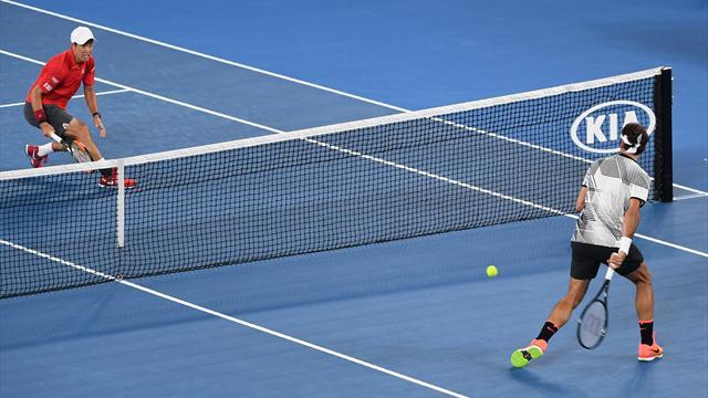 EN DIRECT : 5e set entre Roger Federer et Kei Nishikori