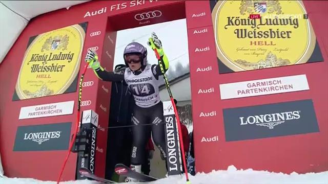 A Garmisch, Vonn s'offre un retour de superstar