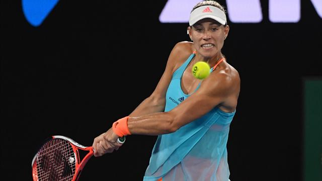 Tennis : Kerber rend sa couronne