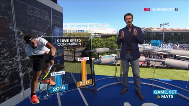 The Coach: So wurde Nadals zweiter Aufschlag zur Waffe