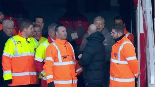 Wenger : »J'aurais dû me taire et rentrer chez moi !»
