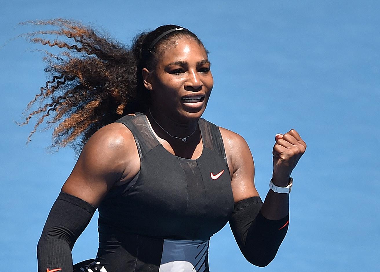 Serena Williams steht im Viertelfinale von Melbourne