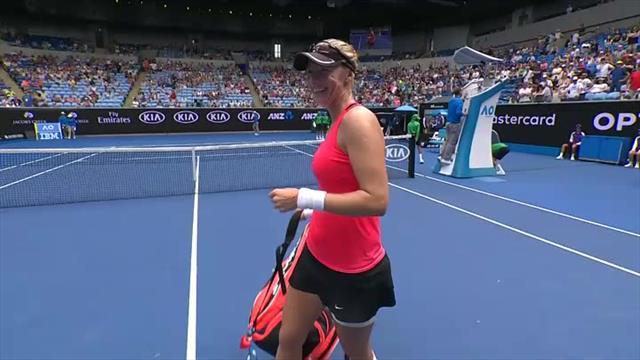 Croatia's Mirjana Lučić Baroni into Australian Open Quarter-Final