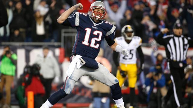 Les Patriots et les Falcons ont rendez-vous au Super Bowl