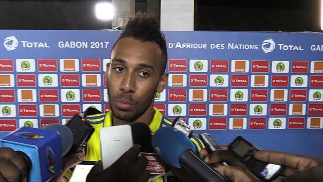 Das sagt Aubameyang zum Gabun-Aus beim Afrika-Cup