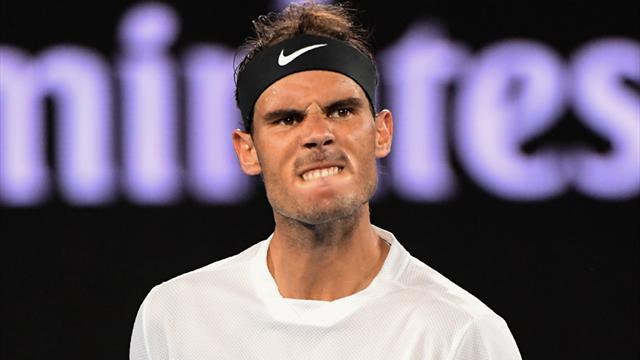 Nadal'dan dev finale bir adım daha