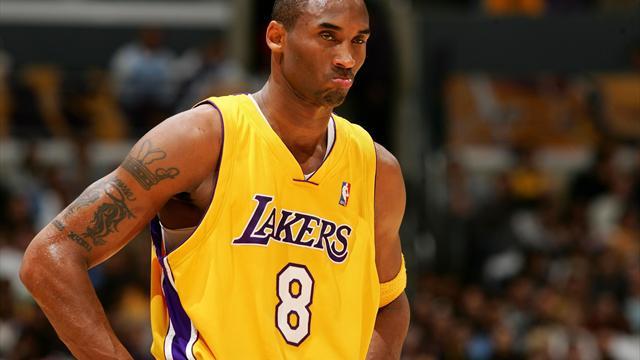 Kobe Bryant au panthéon des Lakers