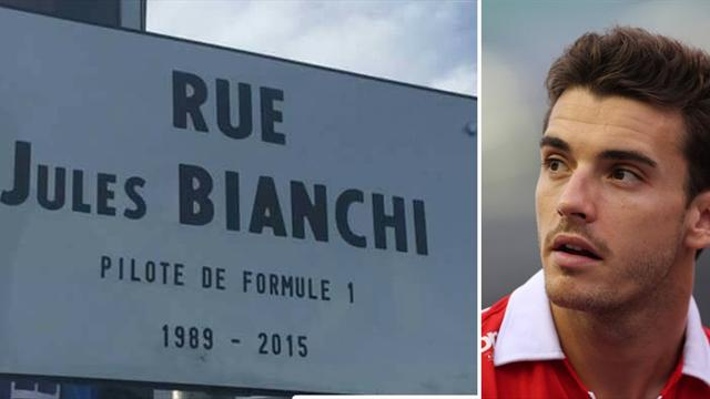 Inaugurata a Nizza una via dedicata a Jules Bianchi