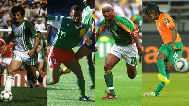 Algérie 82, Cameroun 90... Le Top 10 des plus grandes équipes africaines