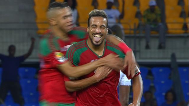 Vídeo: Marruecos deja fuera a Costa de Marfil marcando el mejor gol del torneo