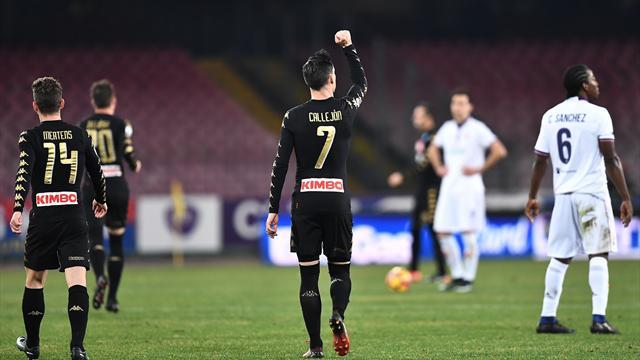 Napoli-Fiorentina: probabili formazioni e statistiche