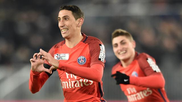 Di Maria et Cavani envoient le PSG en finale