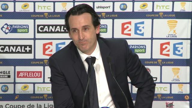 """Emery : """"Cavani est un grand joueur"""""""