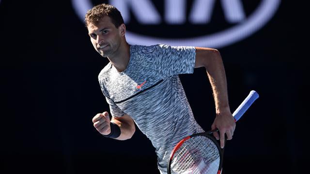 Tennis : Dimitrov a balayé Goffin pour se (re)faire une place au soleil