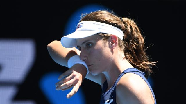 Watson and Konta ensure GB continue winning start with victory over Latvia