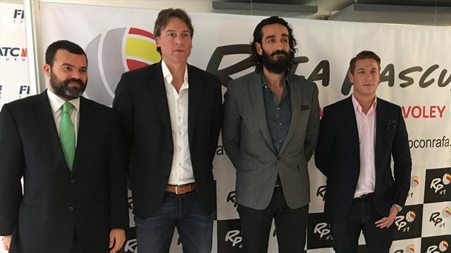 Rafa Pascual presenta su plan de visibilidad para el vóley español con 3 patrocinadores