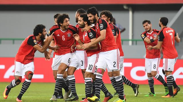 Salah's stunning free-kick snatches win and top spot from Ghana