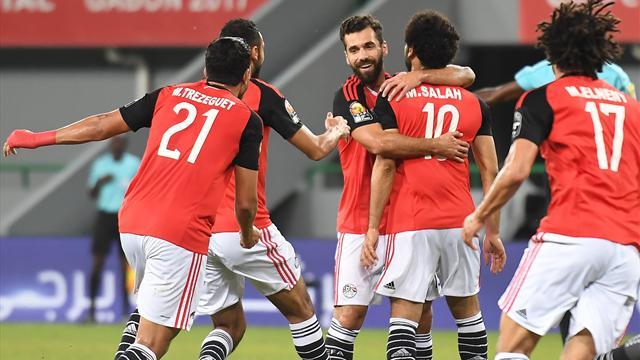 L'Egypte accompagne le Ghana en quarts de finale
