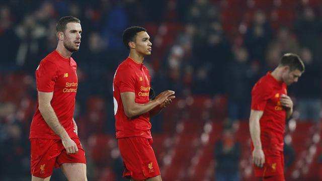 Liverpool risking season of anti-climax after month of misery