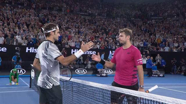 Australian Open: Federer-Wawrinka, gli highlights