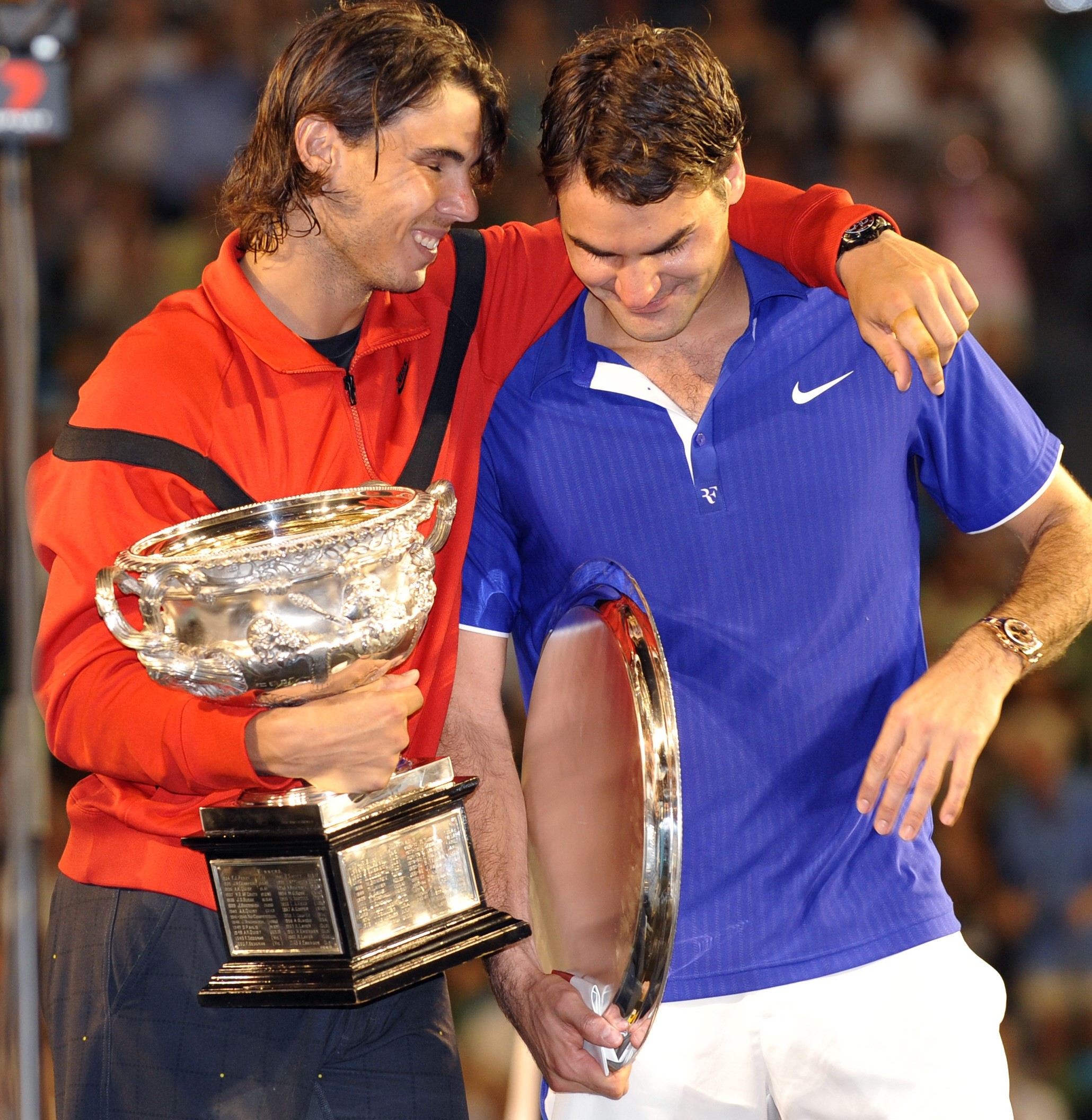 Roger Federer & Rafael Nadal (2009 Avustralya Açık)