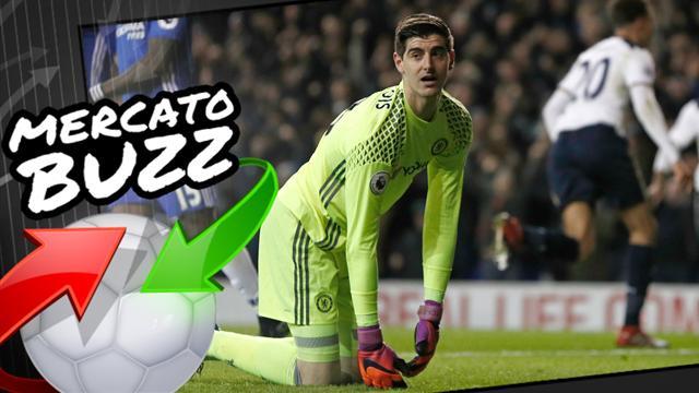 Courtois, la monnaie d'échange censée faire plier le Real Madrid