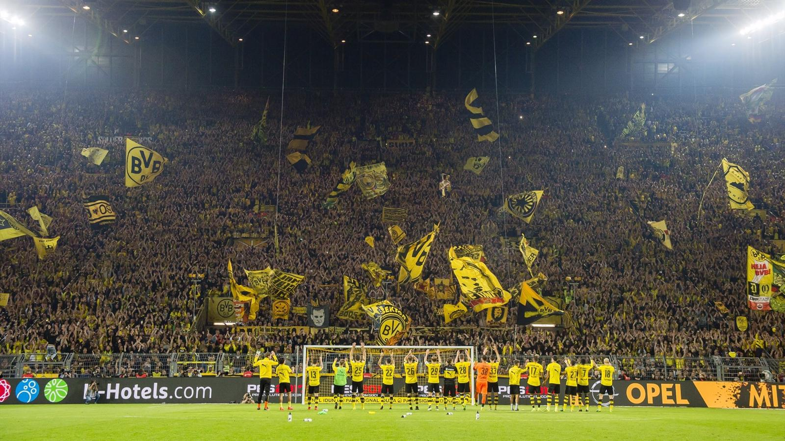 Желтая стена боруссия