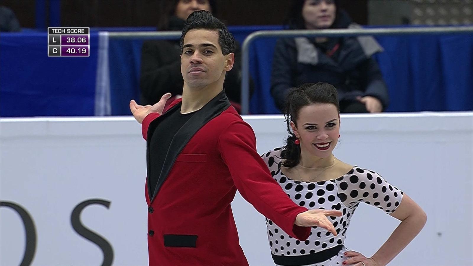 eccezionale gamma di stili e colori seleziona per il meglio davvero comodo Cappellini and Lanotte win Ice Dance