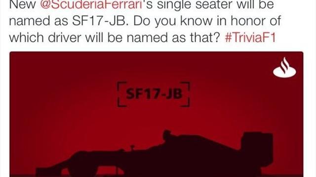 In Spagna sicuri: la nuova Ferrari F1 si chiamerà SF17-JB in onore di Jules Bianchi