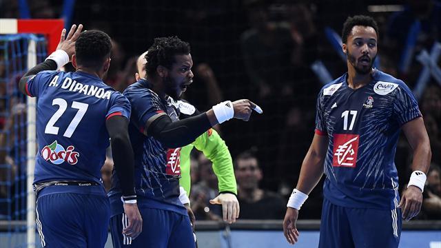 Les Bleus affrontent la Slovénie en demi-finale — Mondial de Handball