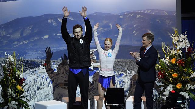 Тарасова и Морозов выиграли чемпионат Европы в парном катании