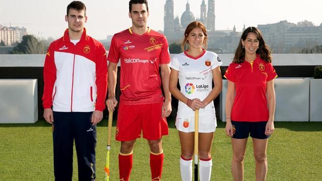 La Federación Española presenta sus nuevas equipaciones hasta 2020