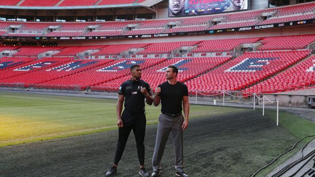 Wembley porté à 90.000 spectateurs pour le combat Joshua-Klitschko
