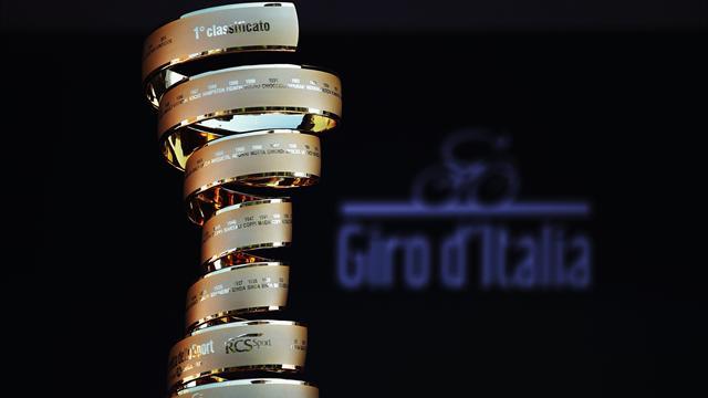 Giro 100'de takım kadroları