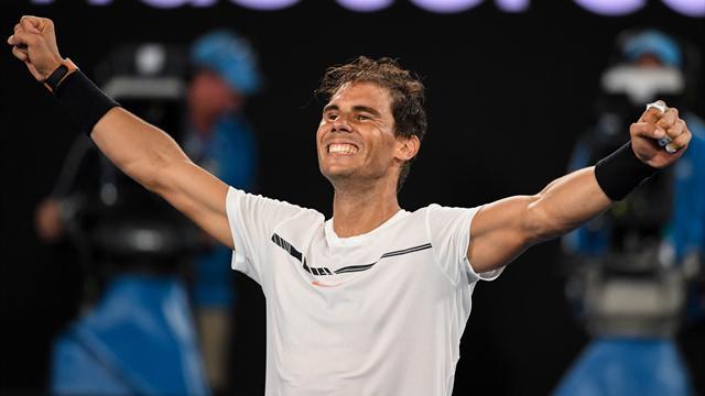 ROLEX MINUTE: How Nadal set up biggest tennis final ever
