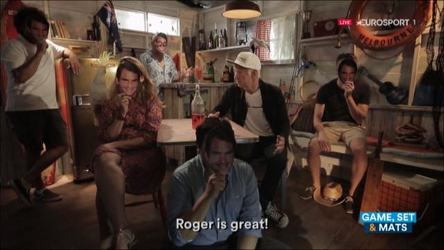 Australian Open 2017: El Comisionado John McEnroe demuestra por qué nunca debimos enterrar a Federer