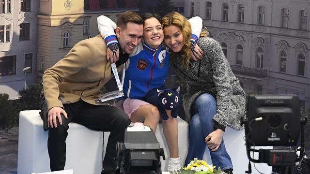 Медведева стала чемпионкой Европы с двумя мировыми рекордами, Погорилая – вторая