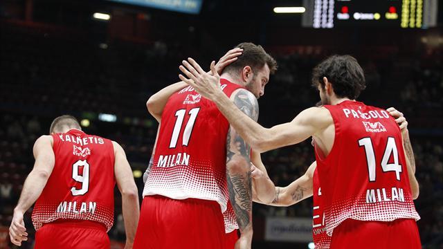 Questa volta è l'Olimpia Milano a subire la rimonta: da +22 a 90-86 per l'Anadolu Efes