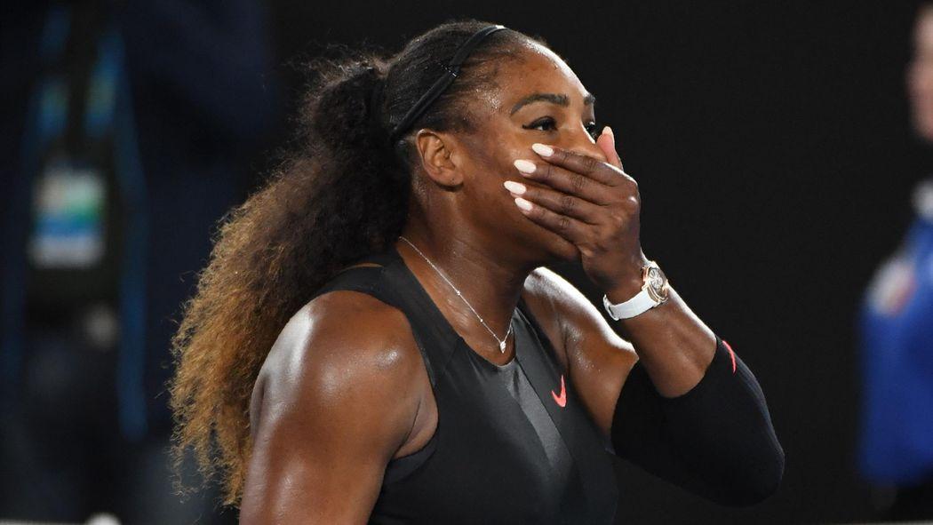 23 Grand Slam Titel Serena Williams überflügelt Steffi Graf Und Ist
