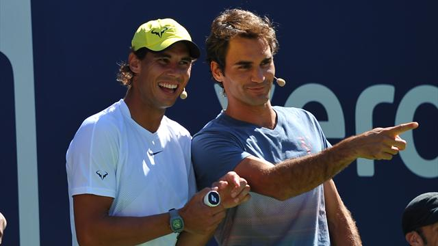 Suivez la finale entre Roger Federer et Rafael Nadal en direct sur Eurosport Player