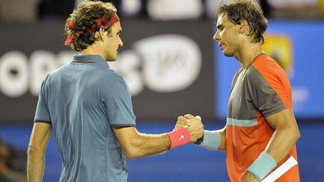 Федерер сыграет с Надалем в четвертом раунде