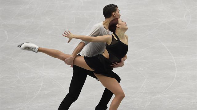 Боброва и Соловьев завоевали бронзу чемпионата Европы в танцах на льду