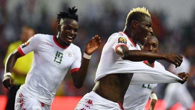 İlk yarı finalist Burkina Faso
