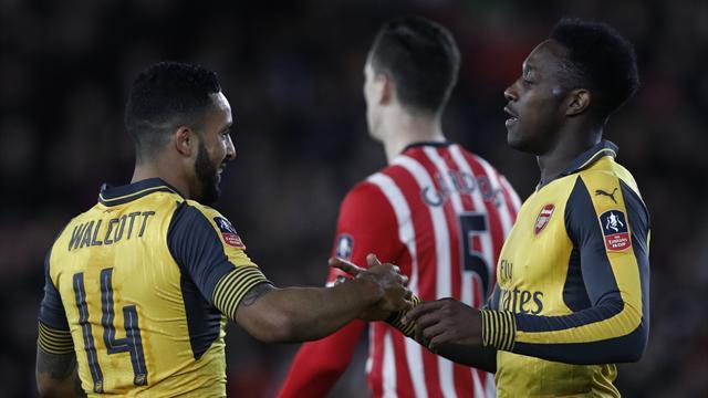 «Арсенал» забил 5 голов вворота «Саутгемптона»