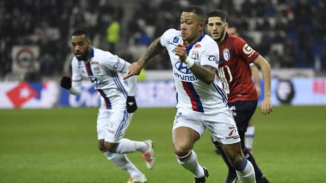 Memphis Depay makes Lyon debut in defeat